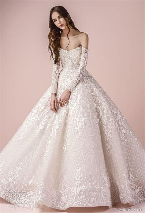 bal gowns saiid kobeisy 2018 wedding dresses ball gowns bodice