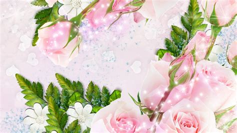 glitter wallpapers of flowers image gallery sparkle flowers
