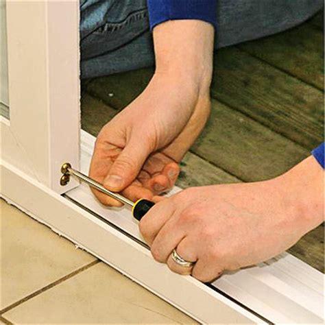 Installing A Patio Door How To Install House Doors Diy Adjusting Sliding Patio Doors