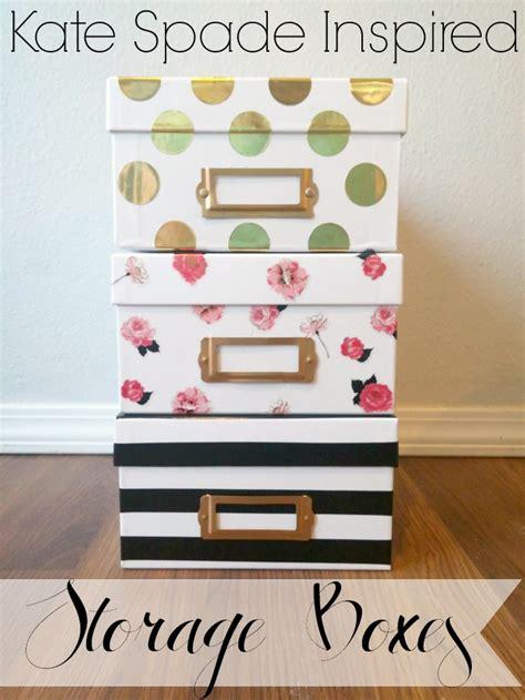 diy storage box craftionary