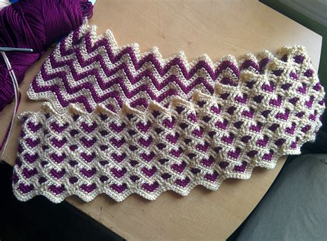 reversible ripple afghans free pattern free crochet pattern reversible afghan manet for