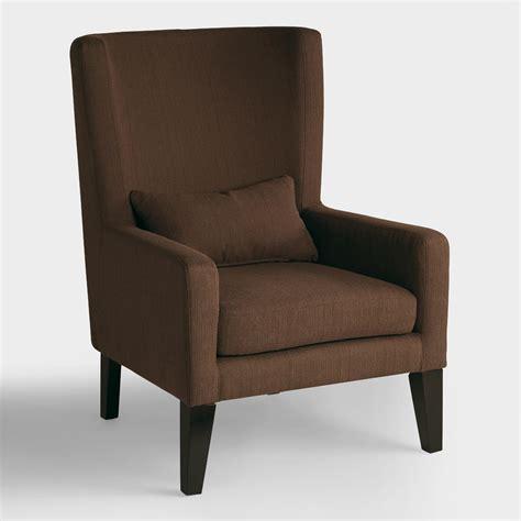 chocolate brown triton high  chair world market