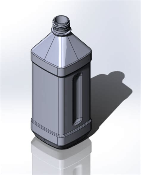 tutorial solidworks bottle part reviewer blow molded bottle part 2 tutorial