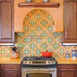 Spanish Tile Kitchen Backsplash Hand Painted Spanish Tile Design Ideas