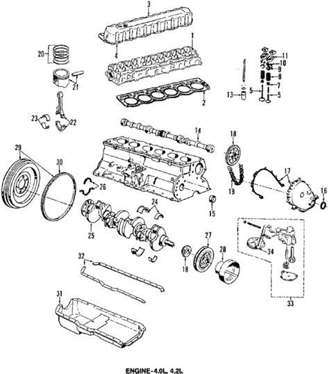 jeep 4 0 engine diagram parts 174 jeep engine 4 0l 4 0l 4 2l partnumber