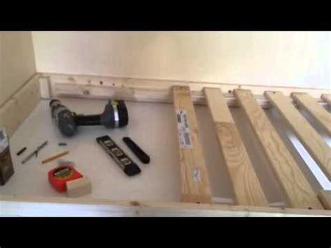 custom built stair box bed part  youtube