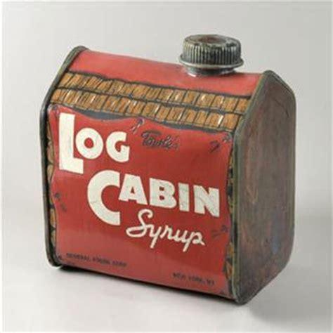 log cabin syrup antique tins