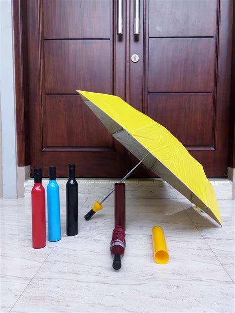 Berkualitas Payung Golf Otomatis Loreng Anti Uv Murah pl3011dp grosir payung lipat 3 botol lapis silver pilih warna payung