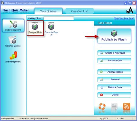 quiz creator software full version free download flash quiz maker 2010 free download