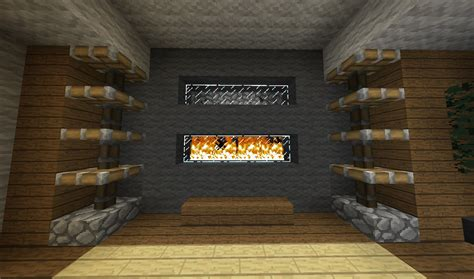 minecraft couch design image gallery minecraft fireplace