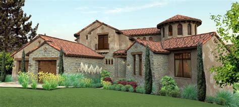 Tuscan Farmhouse Plans by Italian Mediterranean Tuscan House Plan 65881