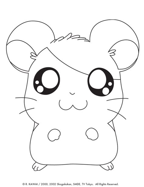 hamtaro coloring pages online hamtaro coloring page coloring home