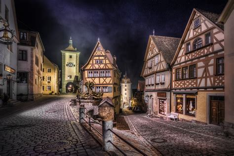 Wallpaper Klasik Eropa 2 rothenburg split road hd wallpaper and background