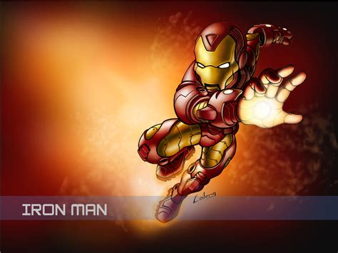 wallpaper cartoon ironman iron man wallpapers taringa