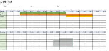 Design Vorlage Excel Praktische Dienstplan Excel Vorlage Kostenlos Herunterladen