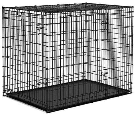 large breed crates large breed great dane heavy duty metal crate best pet supplies