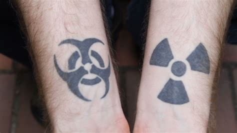 hiv from tattoo hiv gets biohazard tat on his wrist