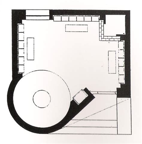 philip johnson glass house floor plan ad classics the glass house philip johnson archdaily