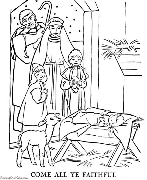 perfect coloring pages pages of the christmas story are