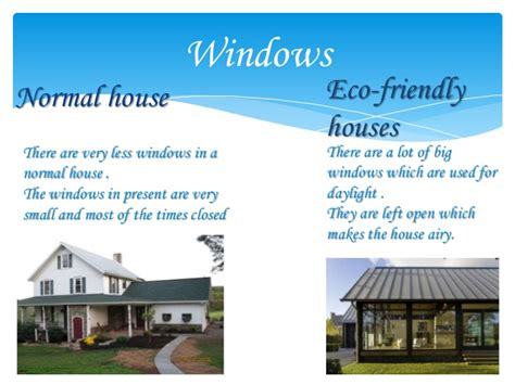 7 Environment Friendly Household Practices by Normal And Eco Friendly Houses