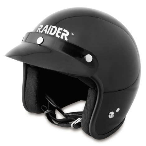 Helm Jave Glossy Gloss Black Open Helmet By At Mills