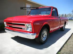 1967 Chevrolet Truck 1967 Chevrolet C10 Truck All Matching Numbers