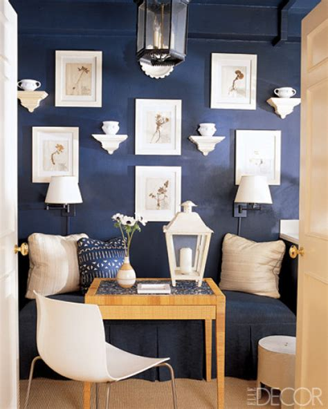 Blue dining rooms   bossy color Annie Elliott Interior Design
