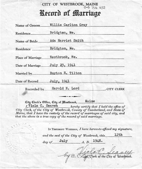 Documents marriage etrangere