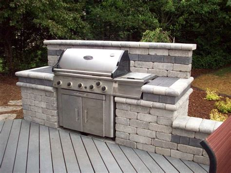 How To Build An Outdoor Grill With Brick Woodworking Diy Backyard Grill