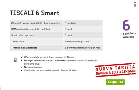 tiscali mobile recensioni offerta per cellulari tiscali 6 smart 6 centesimi verso