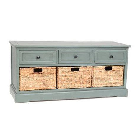 kirklands storage bench furniture baskets and storage on pinterest