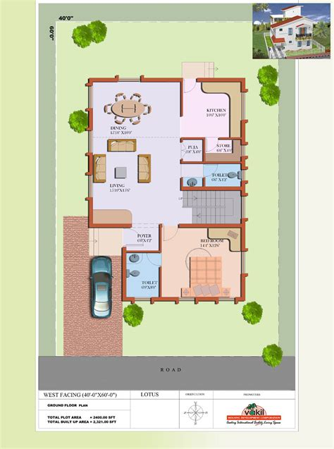House Design 30x50 Site by West Facing Duplex Home Plans