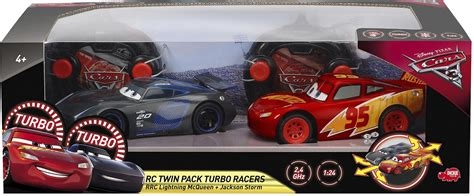 Amazing Rc Mobil Remote Mcqueen Scale 1 20 Murah new disney cars 3 next generation mcqueen vs jackson pack 1 24 rc ebay