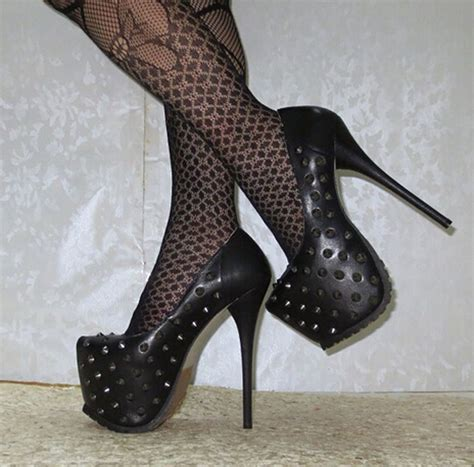 platform high heels popular studded platform heels buy cheap studded platform