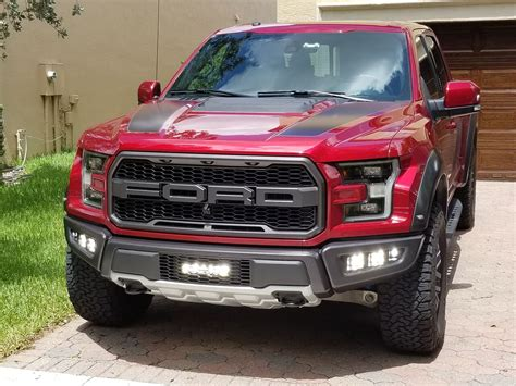 ford raptor fog light kit 2017 raptor lights 2017 ford raptor gen 2 triple fog light and