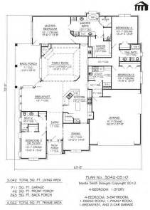 4 Bedroom 1 Story House Plans story 4 bedroom 3 5 bathroom 1 dining room 1 family room 1