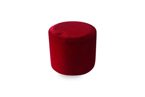 red round ottoman 18 quot red round ottoman lux lounge efr 888 247 4411