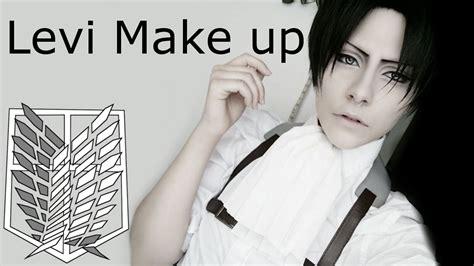 levi makeup tutorial levi ackerman makeup tutorial iro no mori tutorial