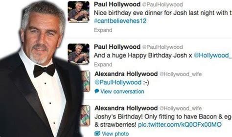 hollywood news yesterday paul hollywood and estranged wife tweet friendly messages