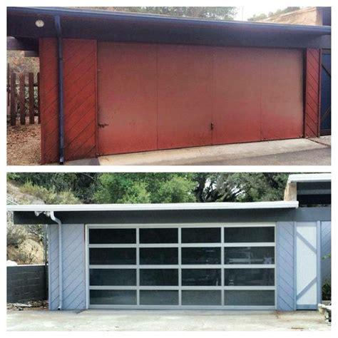 1000 Images About Garage On Pinterest The Mid Mid Century Modern Garage Doors