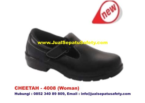 Sepatu Merk Cheetah gudang supplier utama safety shoes cheetah 4008