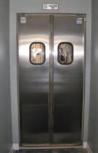 restaurant kitchen doors stainless steel restaurant door