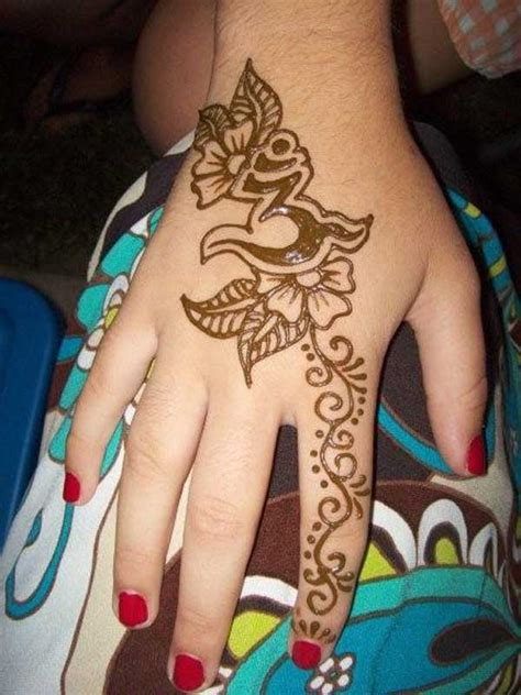 hawaiian flower henna tattoo flower images designs