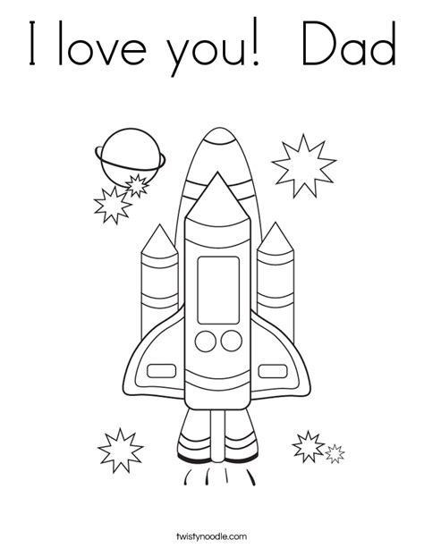 free i love you daddy coloring pages i love you dad coloring page twisty noodle