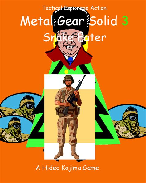 Video Clip Memes - metal gear solid 3 snake eater clip art covers know