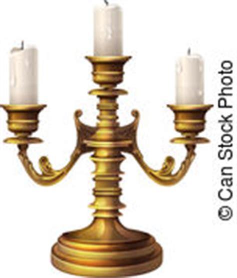 kerzenhalter clipart candelabra clip vector and illustration 875