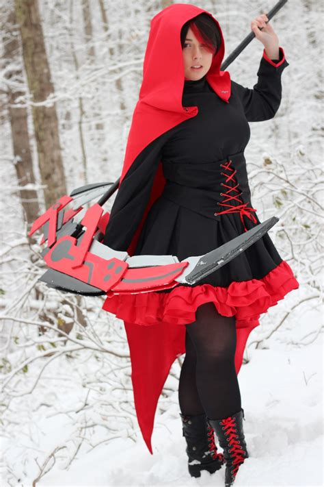Kaos Anime Rwby Ruby 02 rwby ruby by reesesnnpieces on deviantart