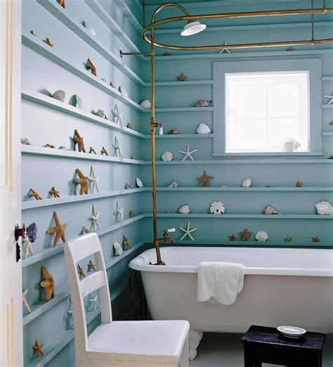 seashell bathroom decor ideas 15 cute decor details for nautical bathroom style motivation