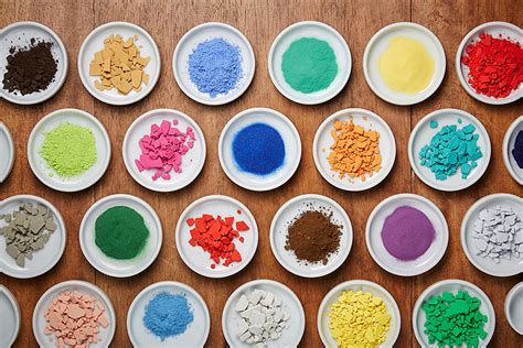 4 200 pigments lined up on japanese paint supply store s