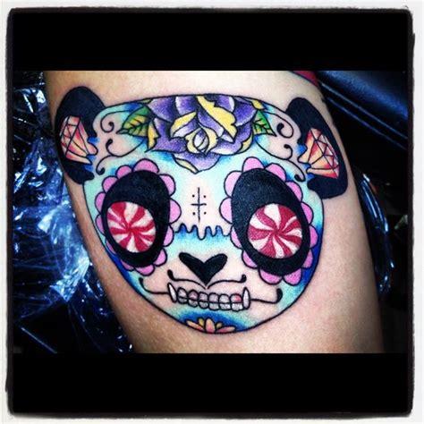 panda tattoo skull panda tattoo tattoo s pinterest skulls